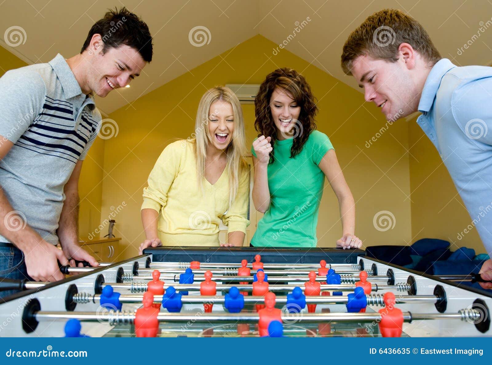 Jouer au football de Tableau