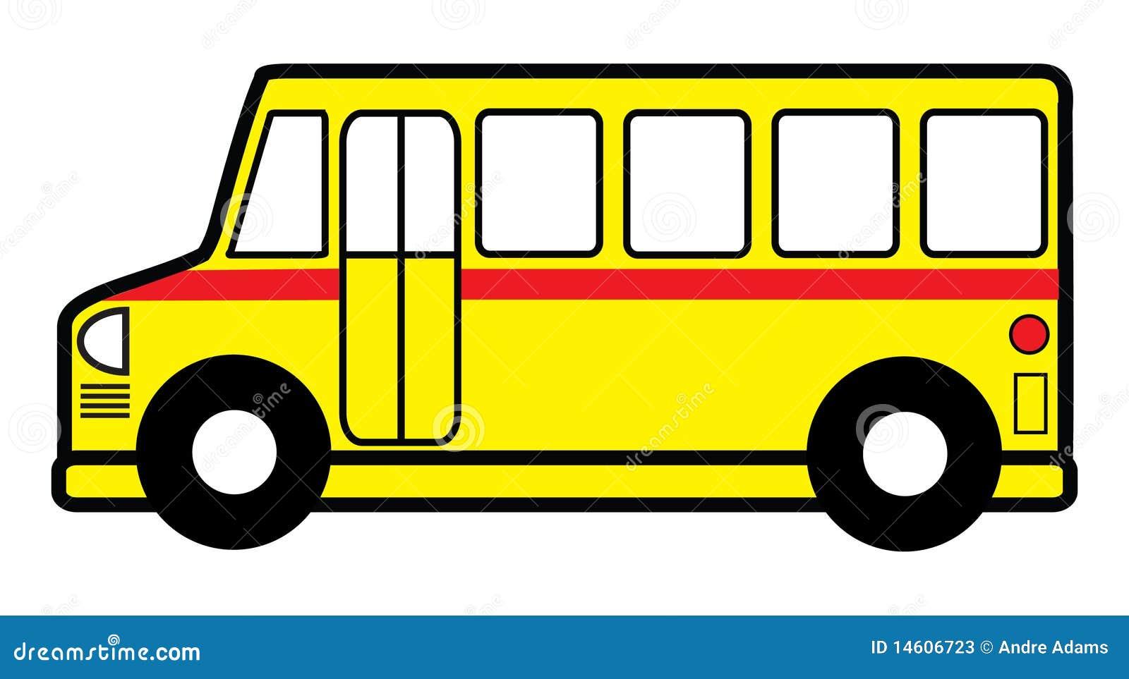 Jouet d 39 autobus scolaire illustration de vecteur - Autobus scolaire dessin ...