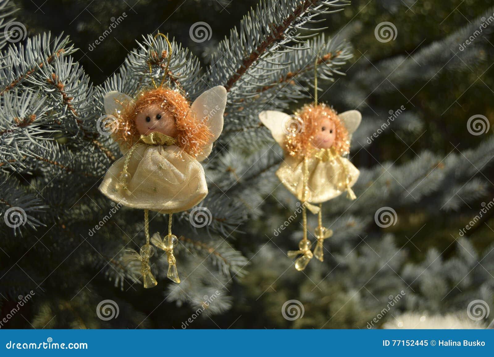 Jouet de Noël sous forme d ange