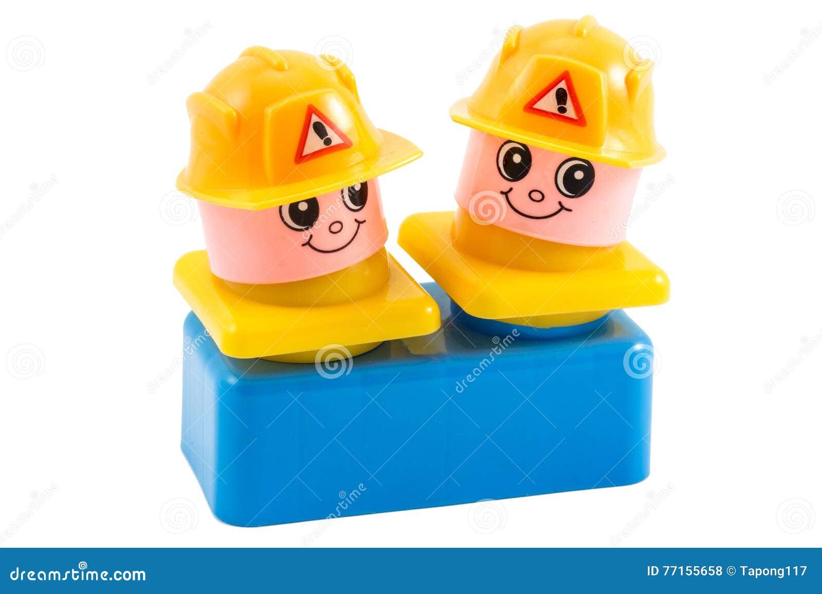Jouet de travailleurs de la construction
