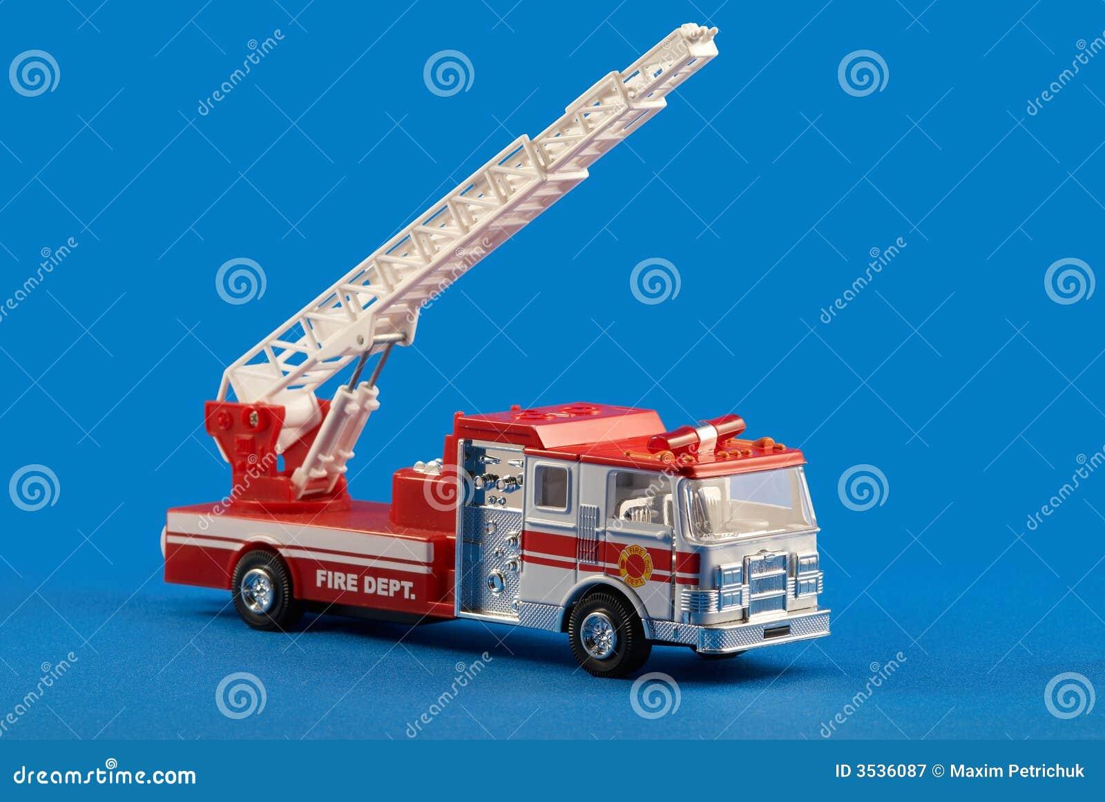 Jouet de véhicule de service d incendie