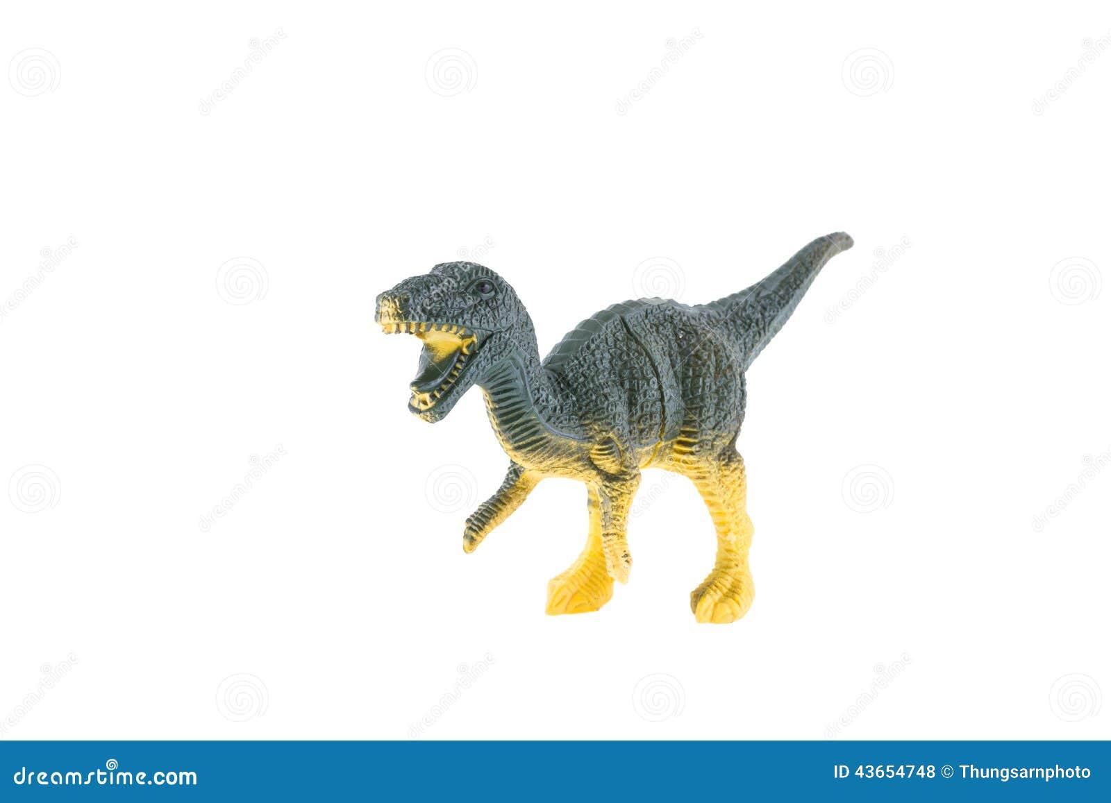 jouet en plastique de dinosaure velociraptor