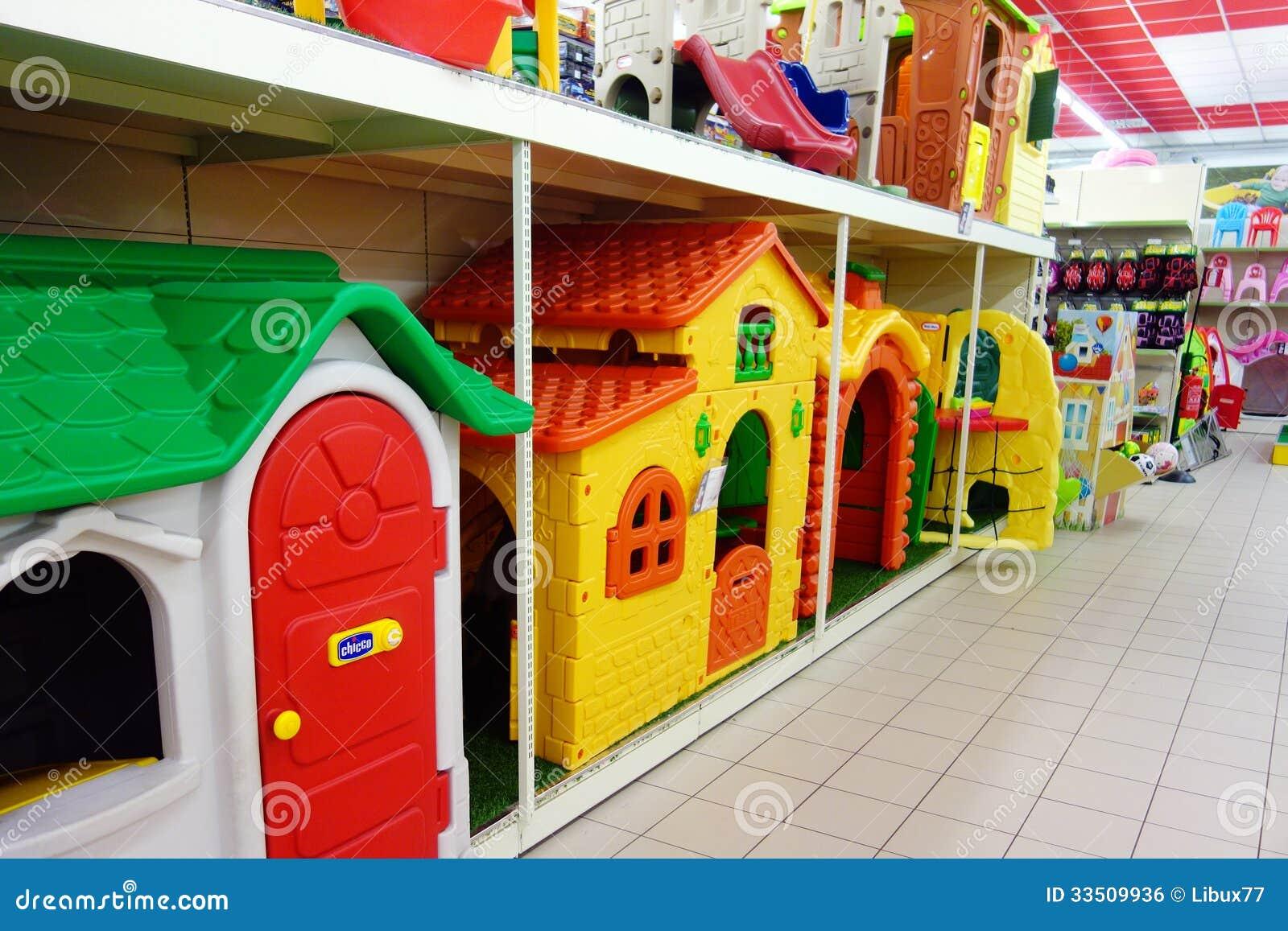 Jouets d 39 enfants pour la boutique de jardin photo for Casas de juguete para jardin baratas