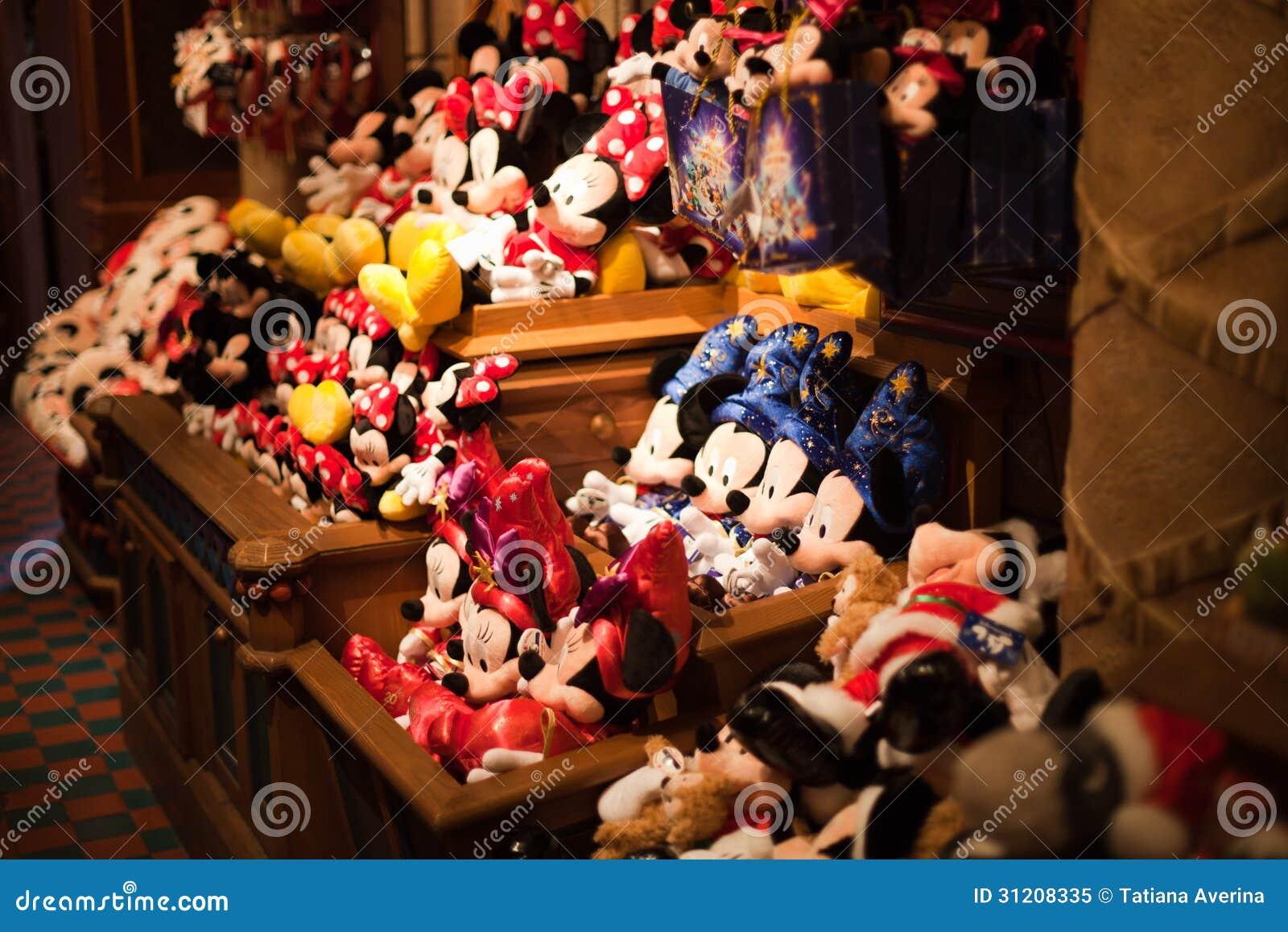 jouets de minnie et de mickey mouse image ditorial. Black Bedroom Furniture Sets. Home Design Ideas
