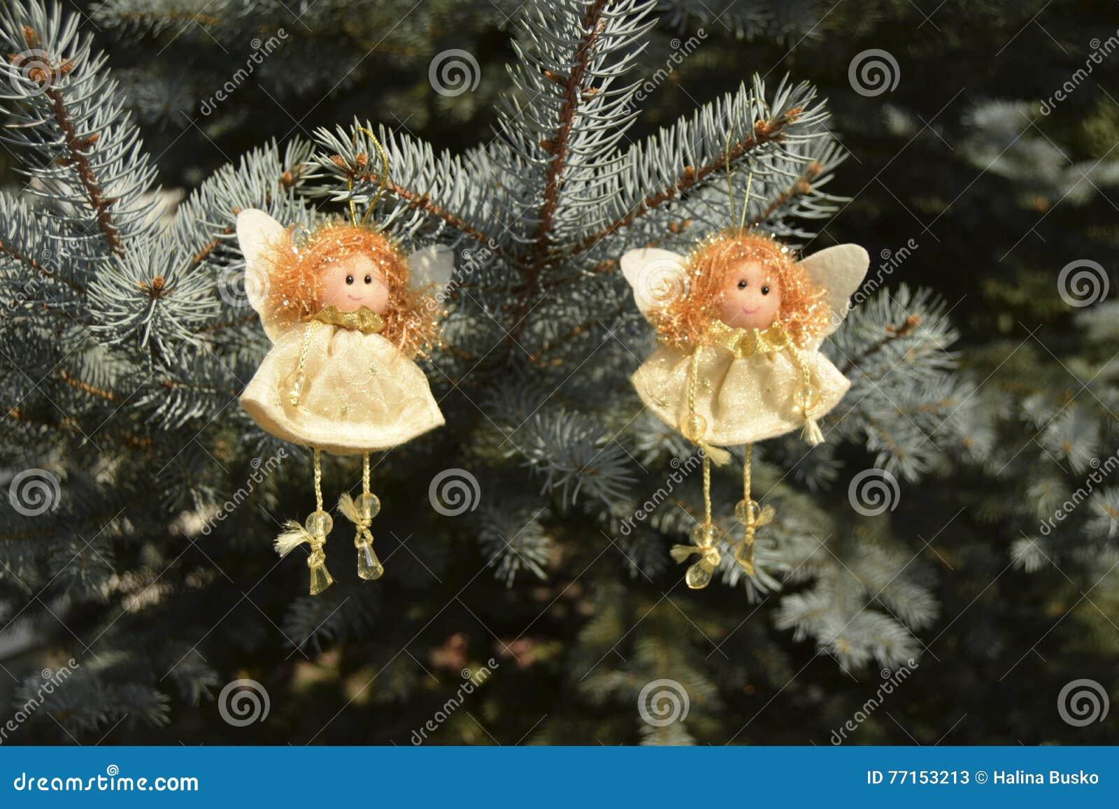 Jouets de Noël sous forme d anges