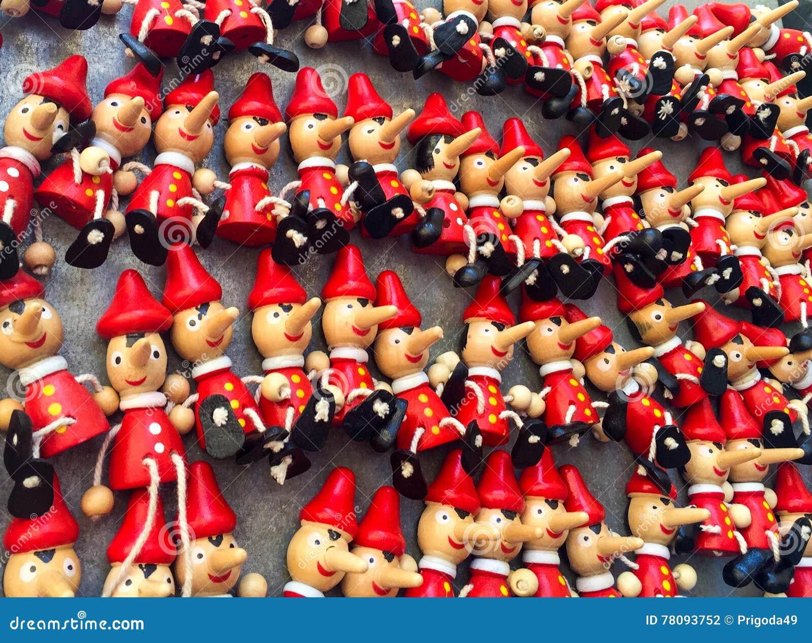 Jouets de Pinocchio