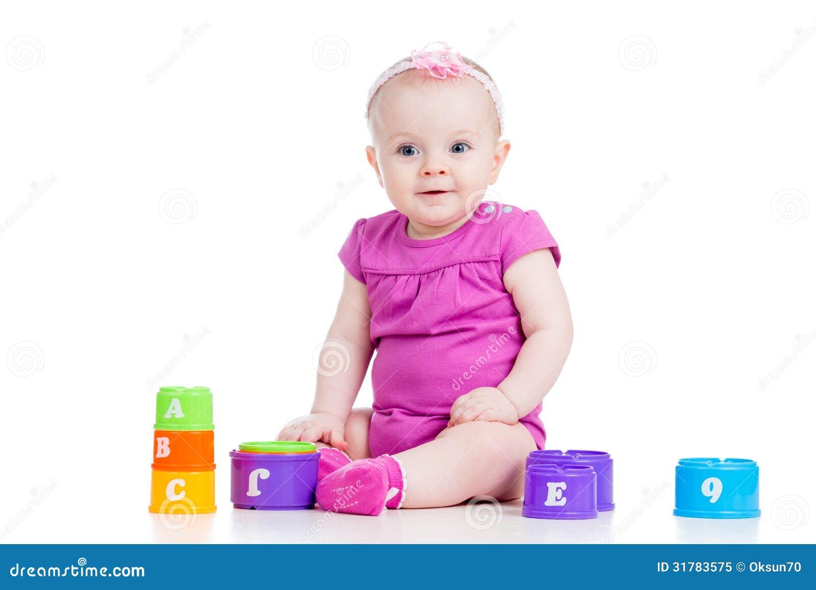 Jouets de tasse de jeu de bébé