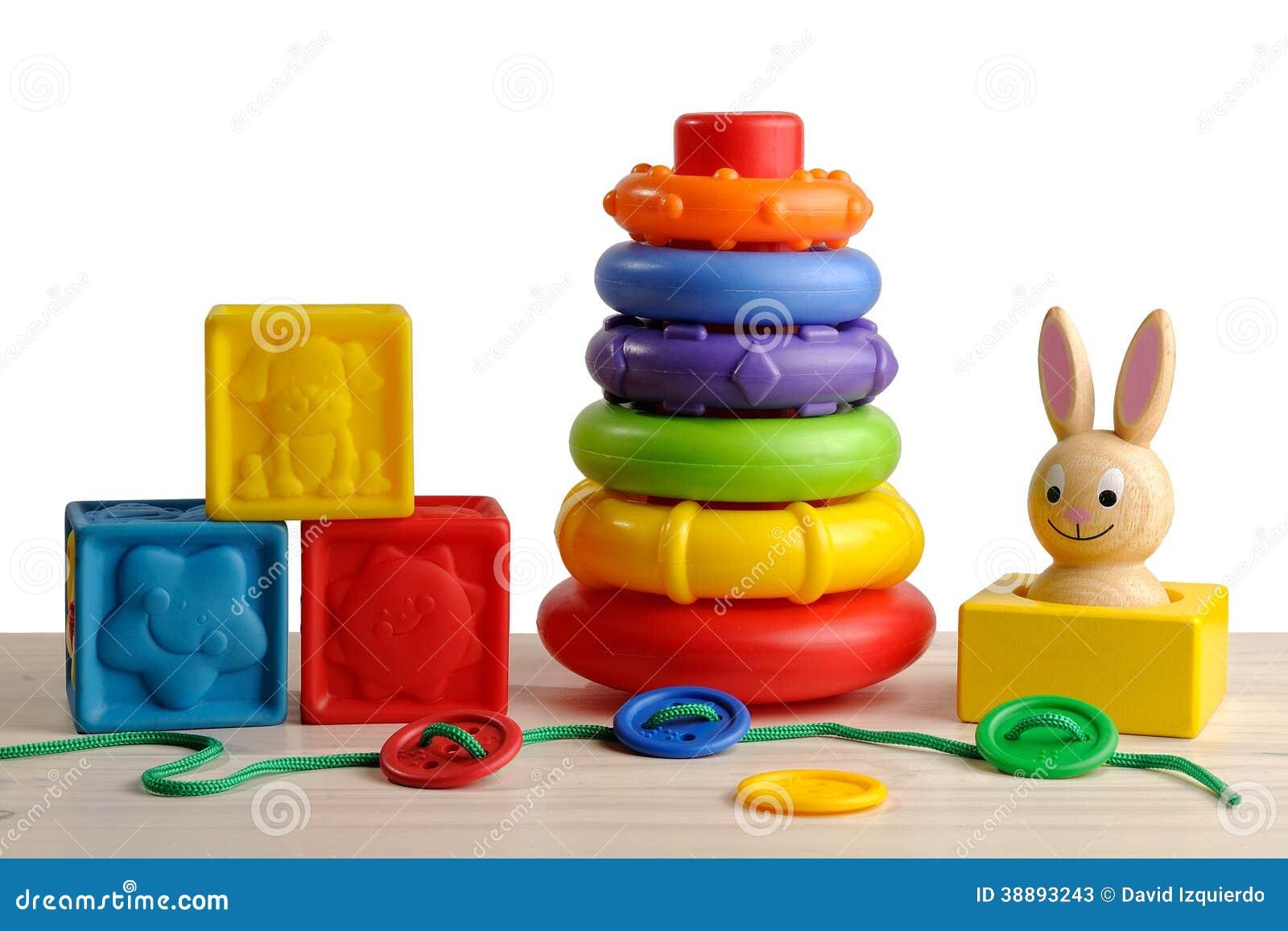 jouets pour le d veloppement moteur de l 39 enfant photo stock image 38893243. Black Bedroom Furniture Sets. Home Design Ideas