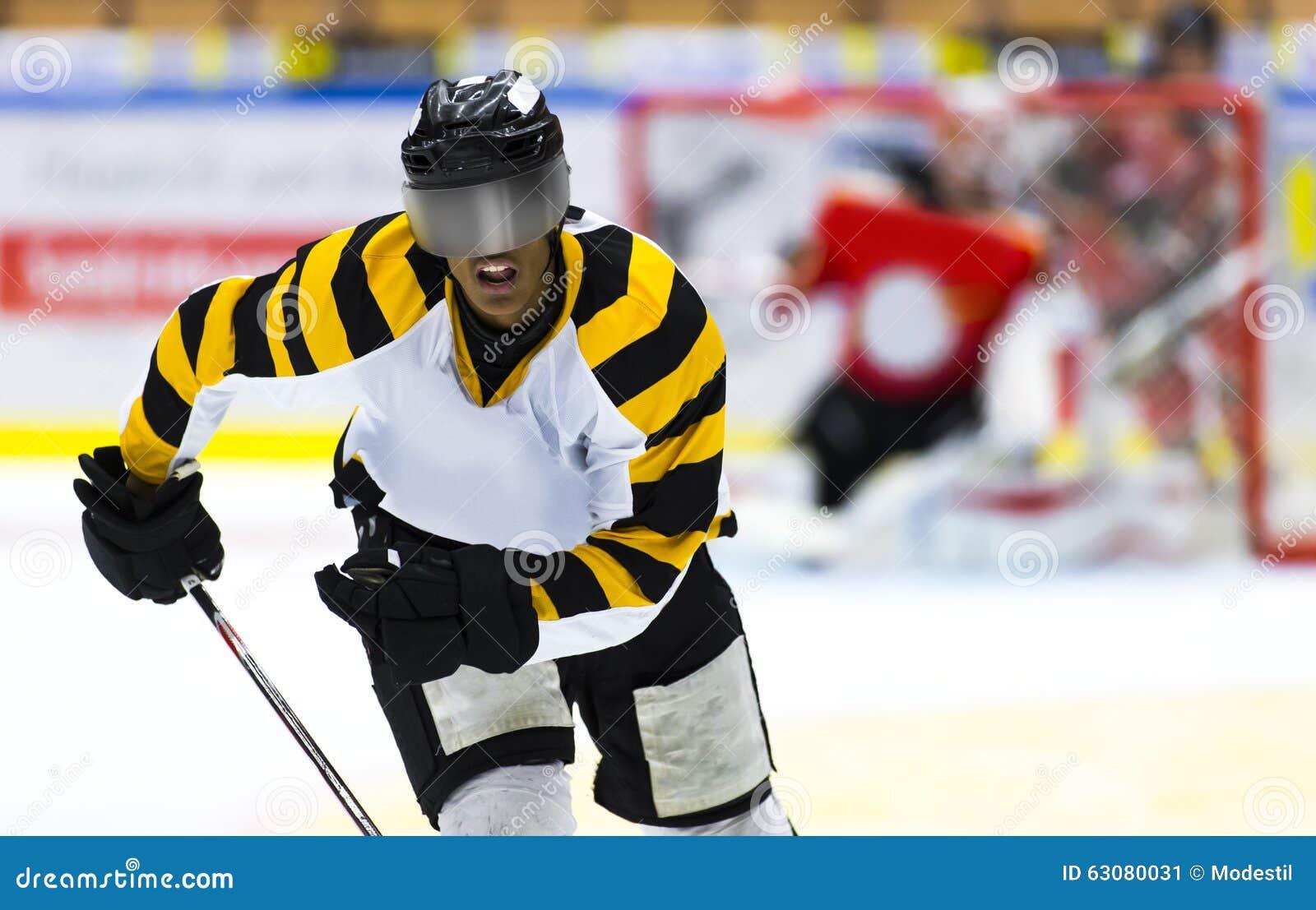 Download Joueur De Hockey Afro-américain Photo éditorial - Image du américain, minorité: 63080031