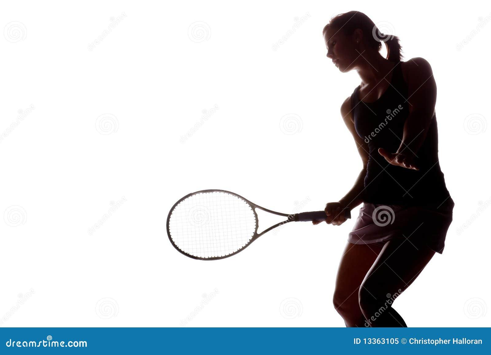 Joueur de tennis féminin