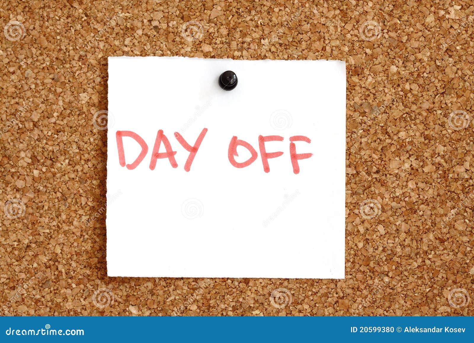 Jour de cong le rappel photo stock image 20599380 for Demenagement jour de conge