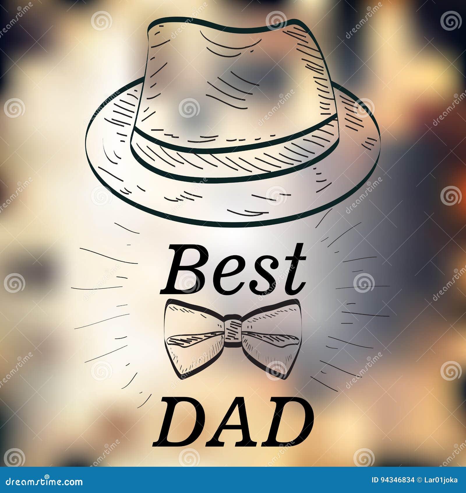 Jour de père heureux