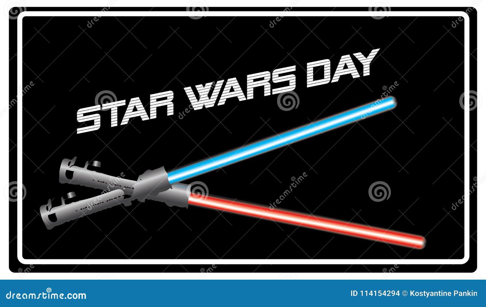 Jour de Star Wars de bannière