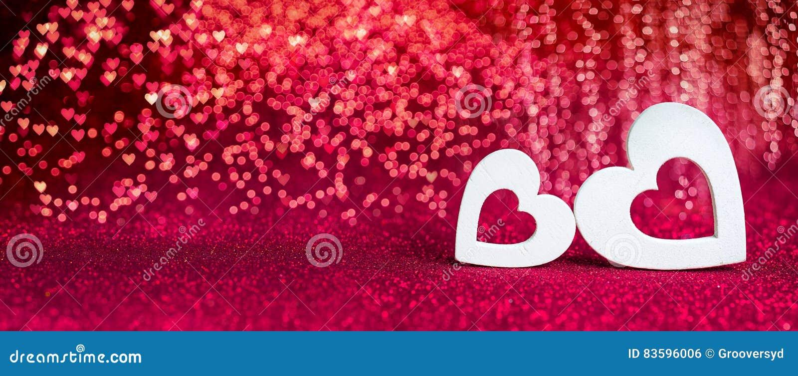 Jour de valentines - coeurs en bois
