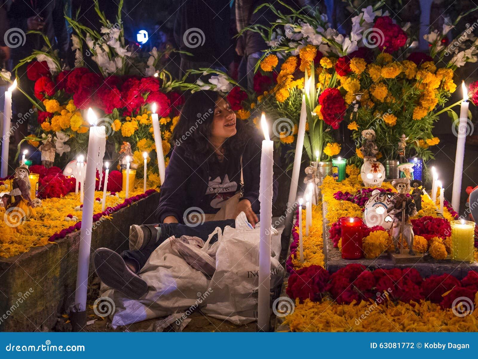 Download Jour des morts photographie éditorial. Image du oaxaca - 63081772