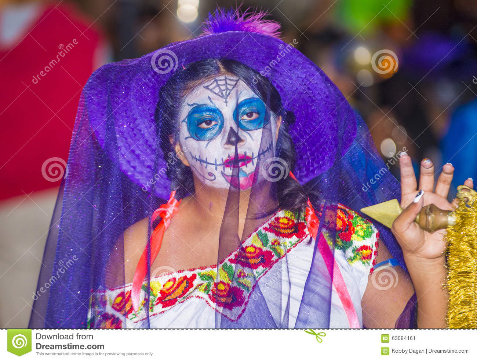 Download Jour des morts photo éditorial. Image du masque, défilé - 63084161