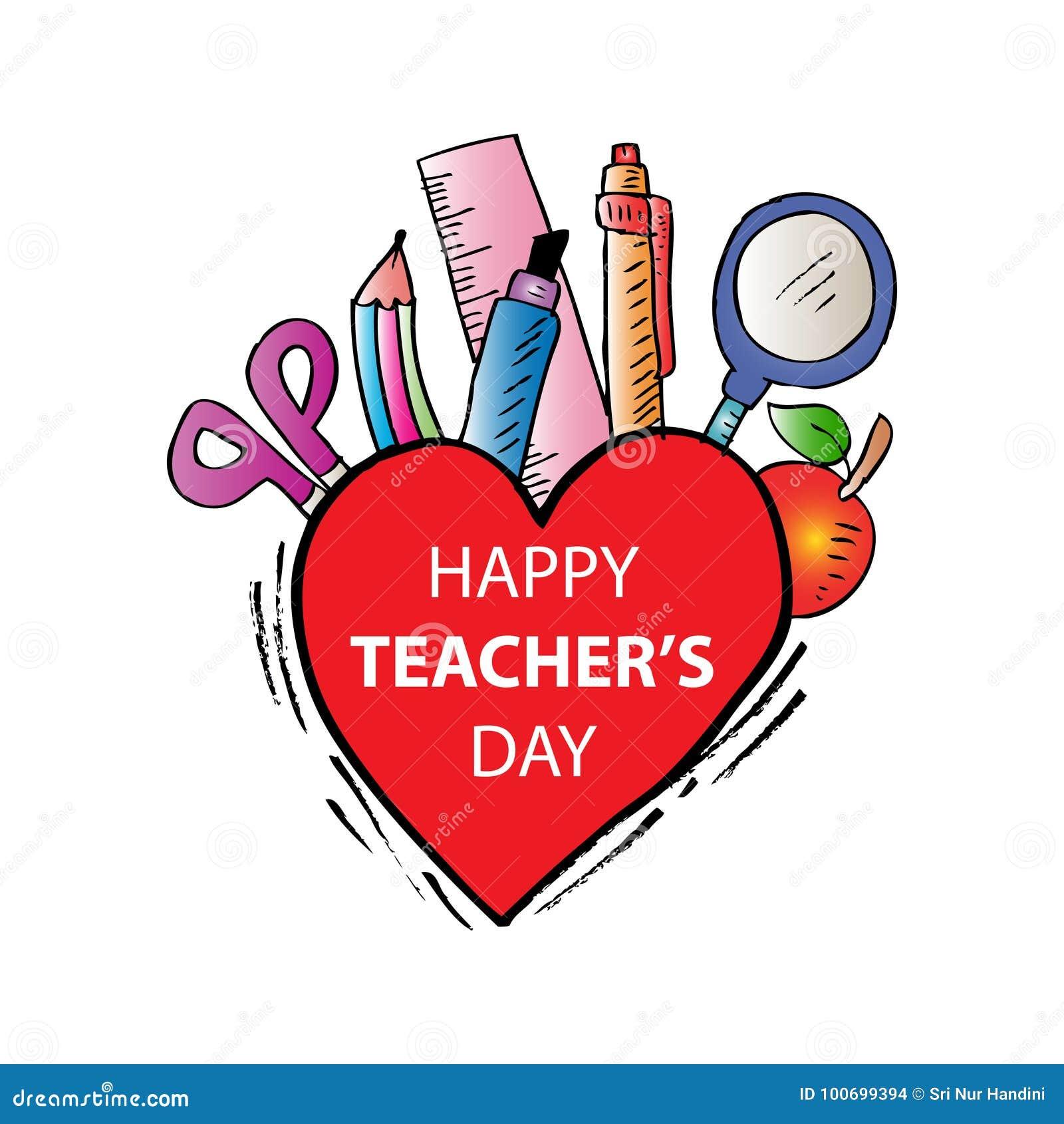 Jour heureux de professeurs