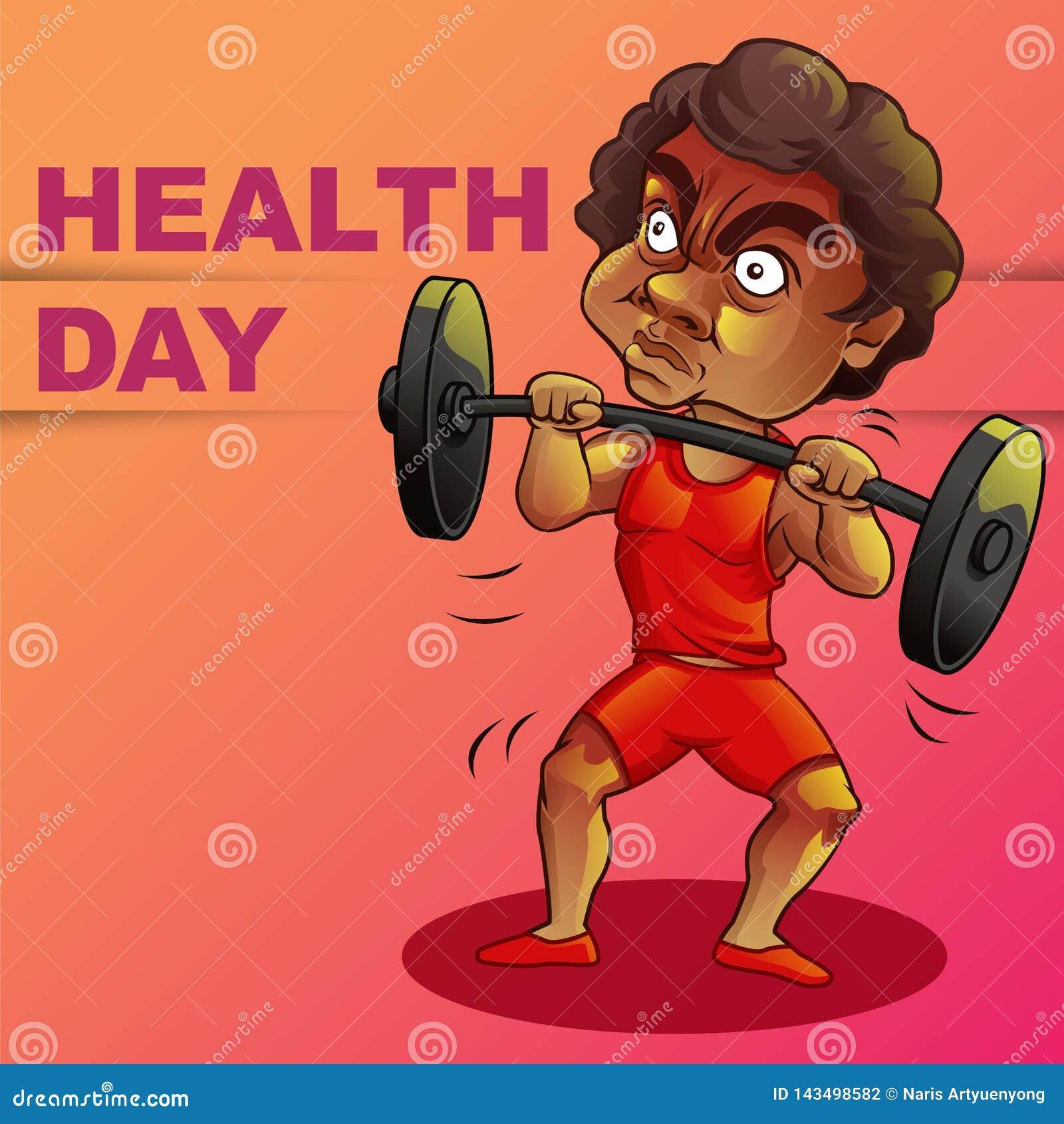 Jour heureux de santé