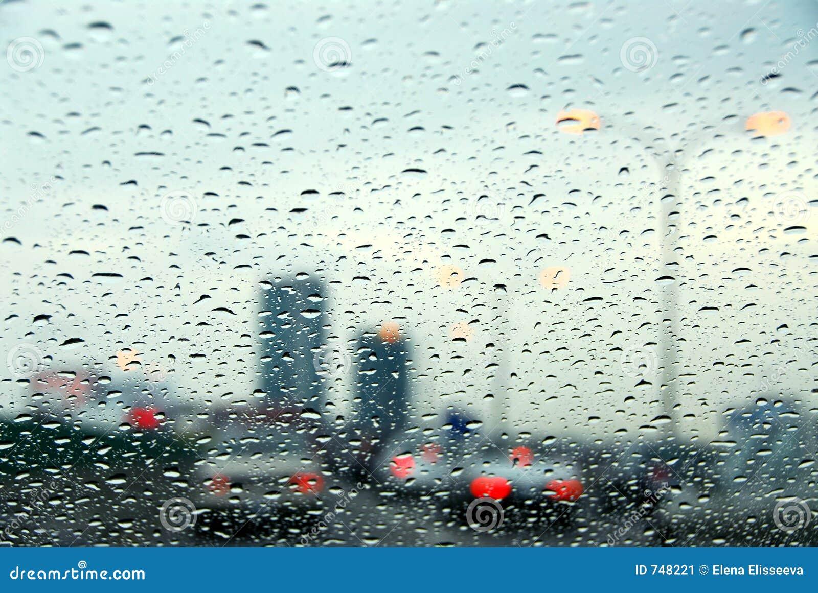 Jour pluvieux de circulation