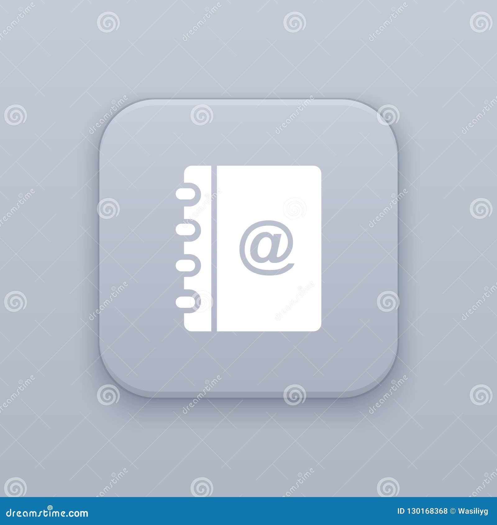 Journa, notebook button, best vector