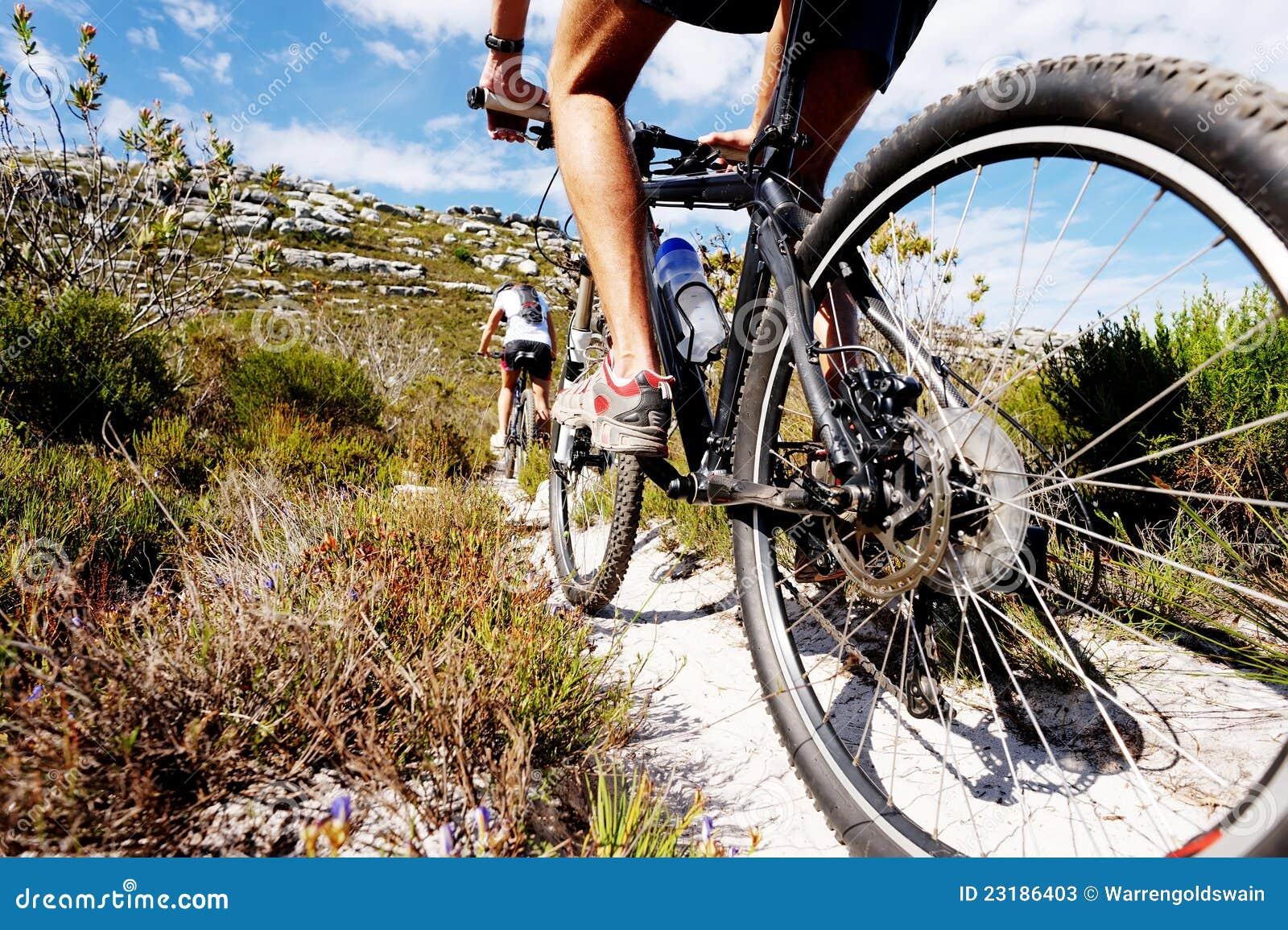 Journal de vélo de montagne