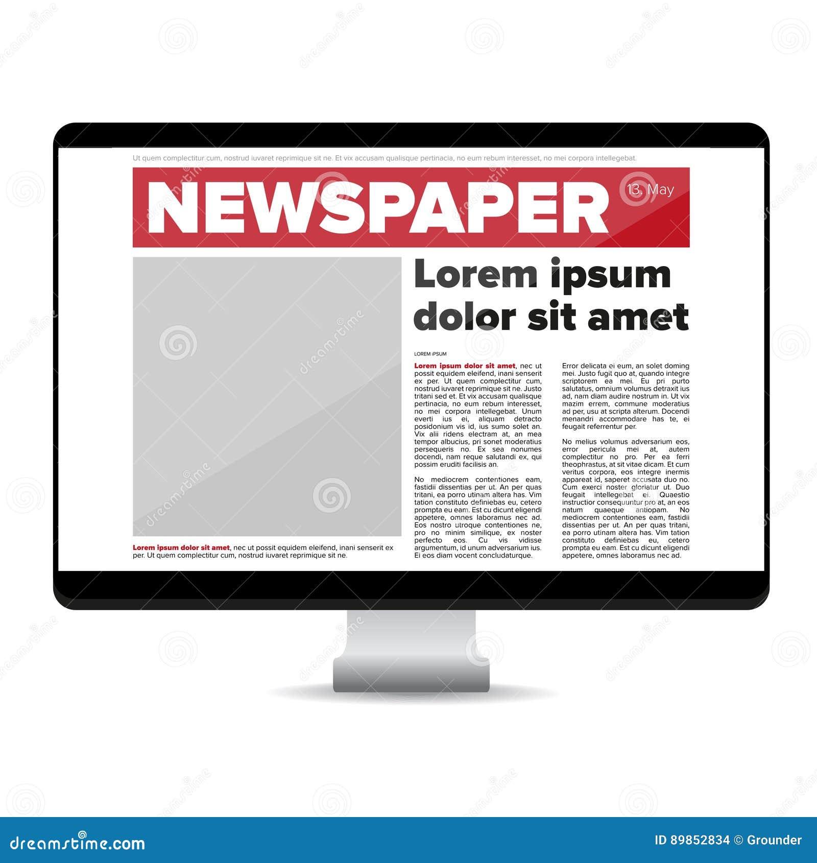 Journal sur l ordinateur d écran