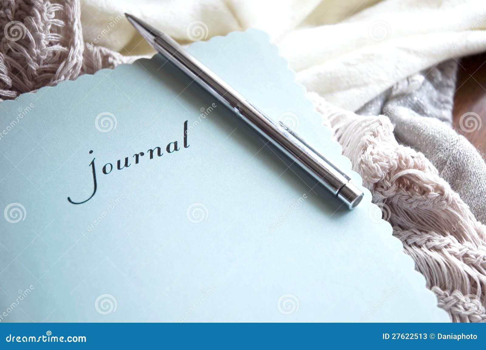 Journal in winter
