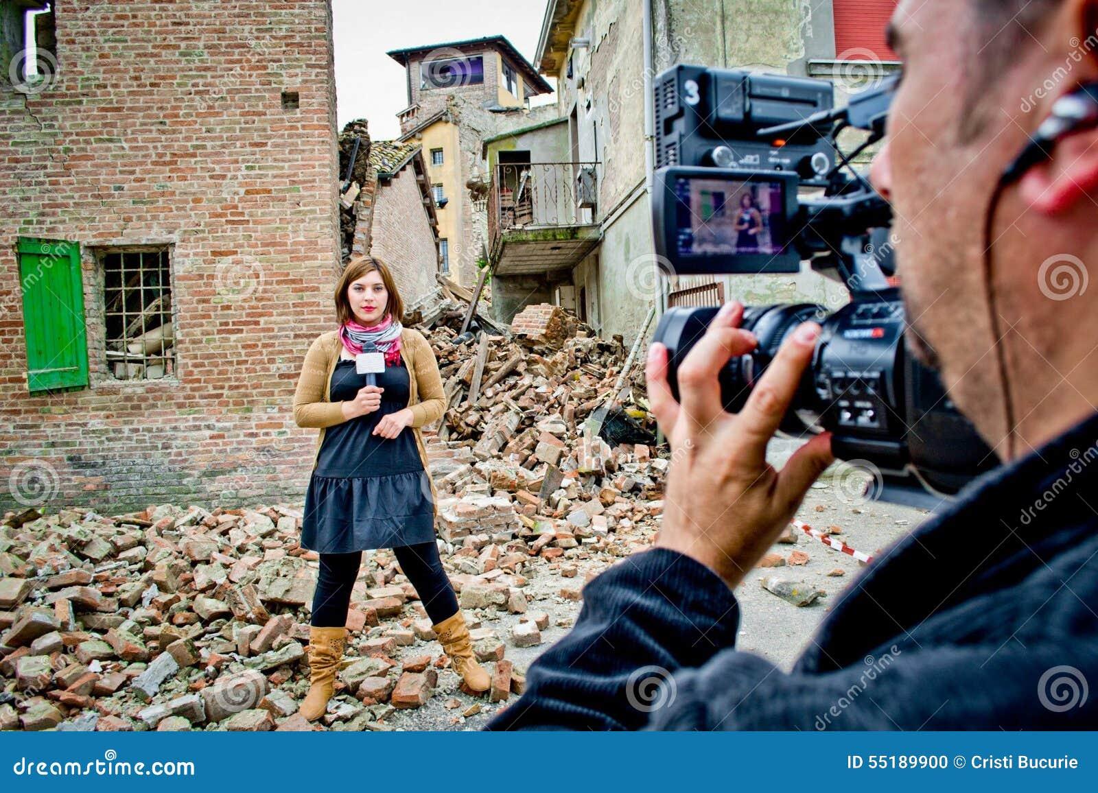 Journaliste de TV