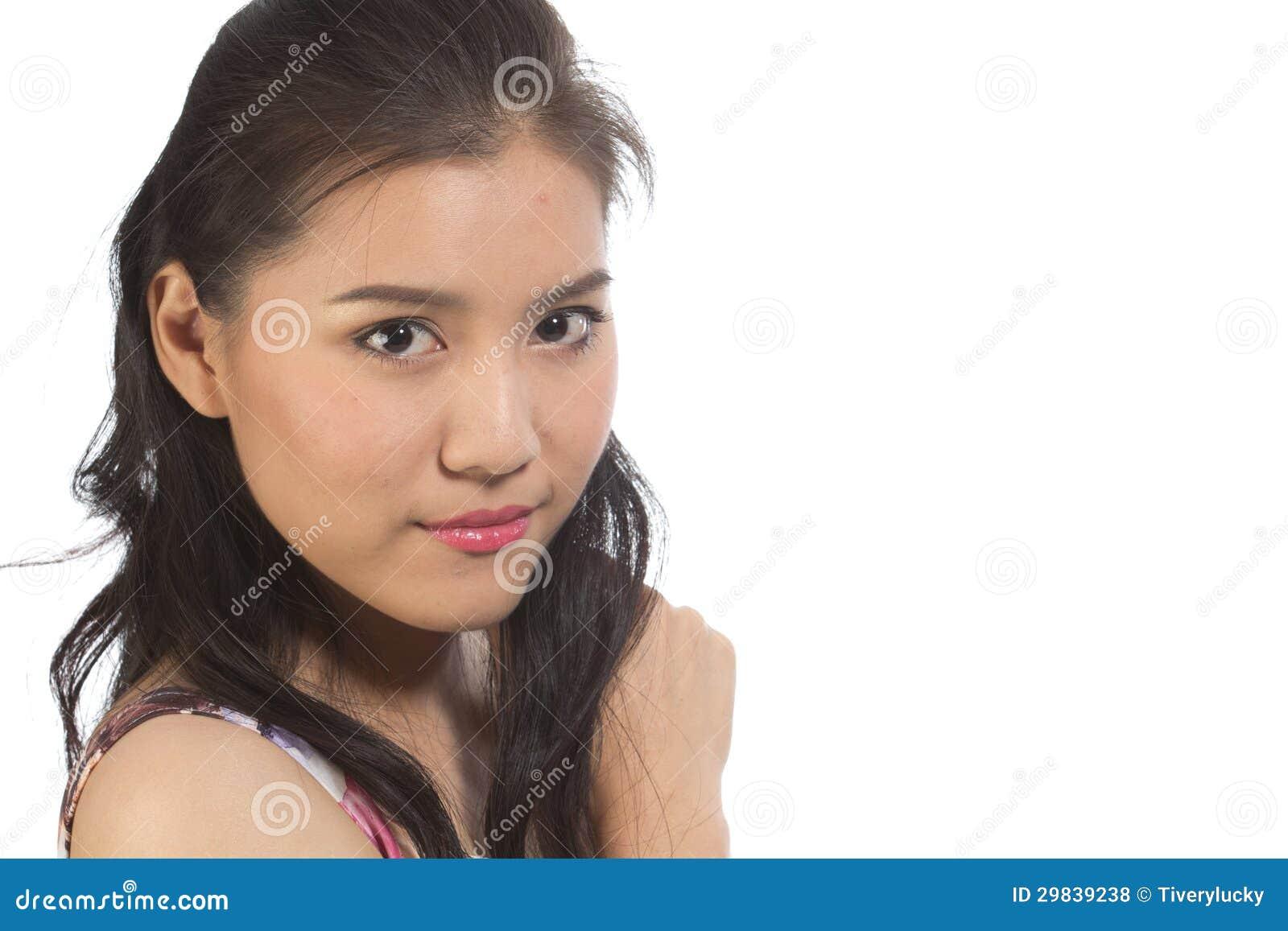 Menina adolescente asiática