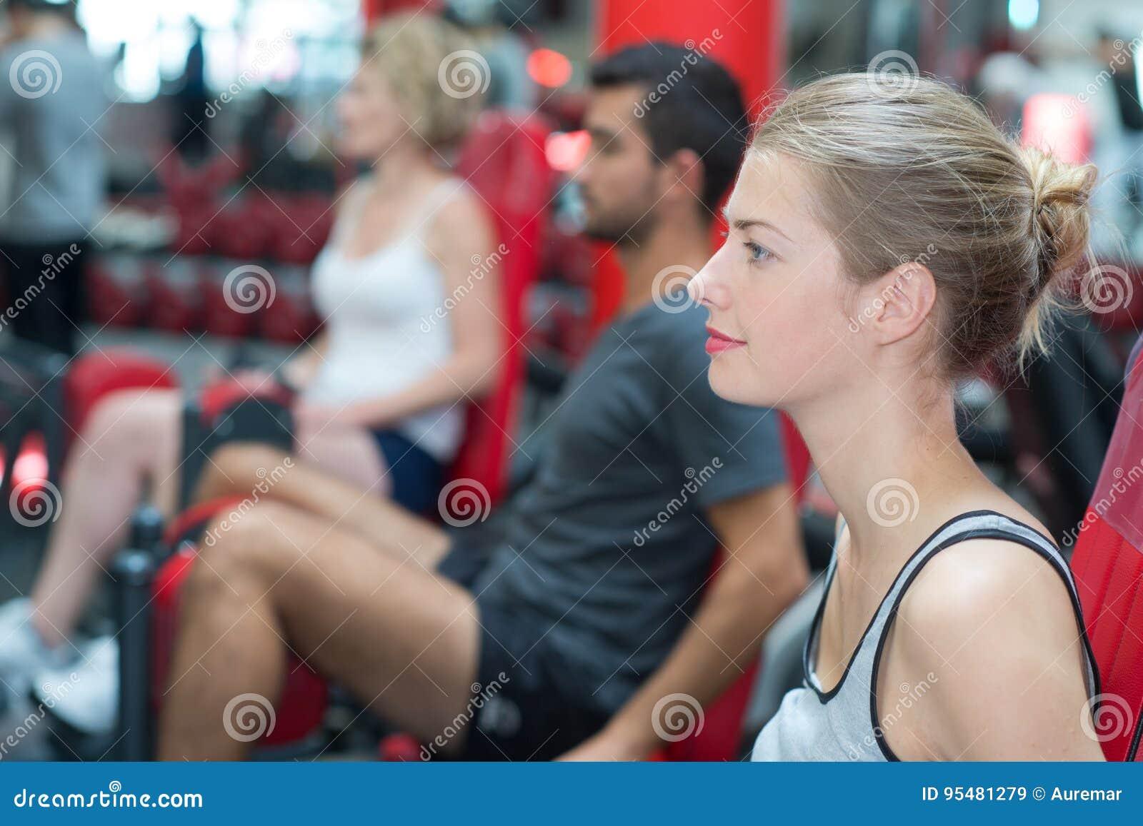 Jovens no Gym