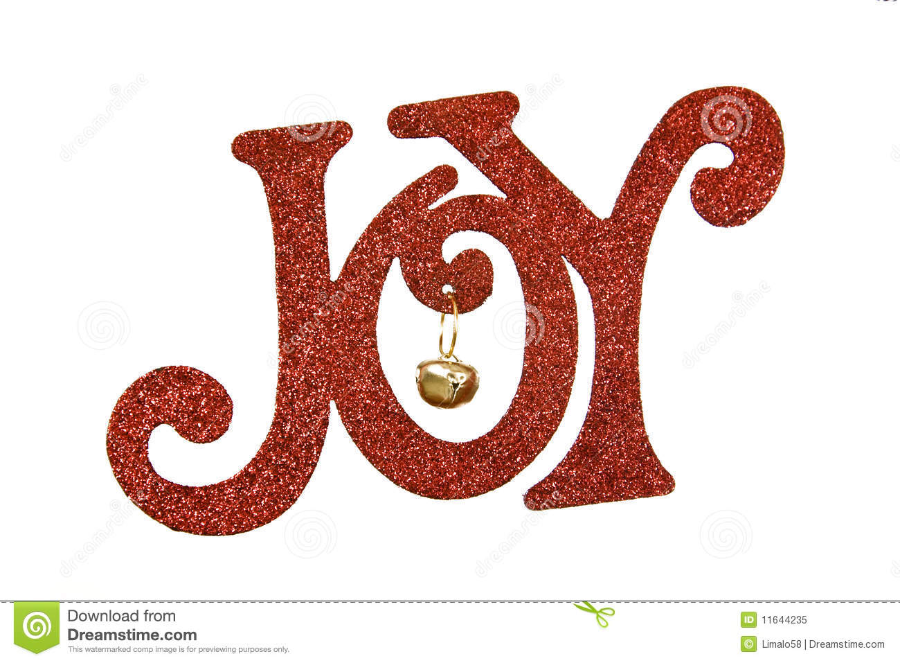 Joy stock image image of decoration holiday sign word for Decoration word