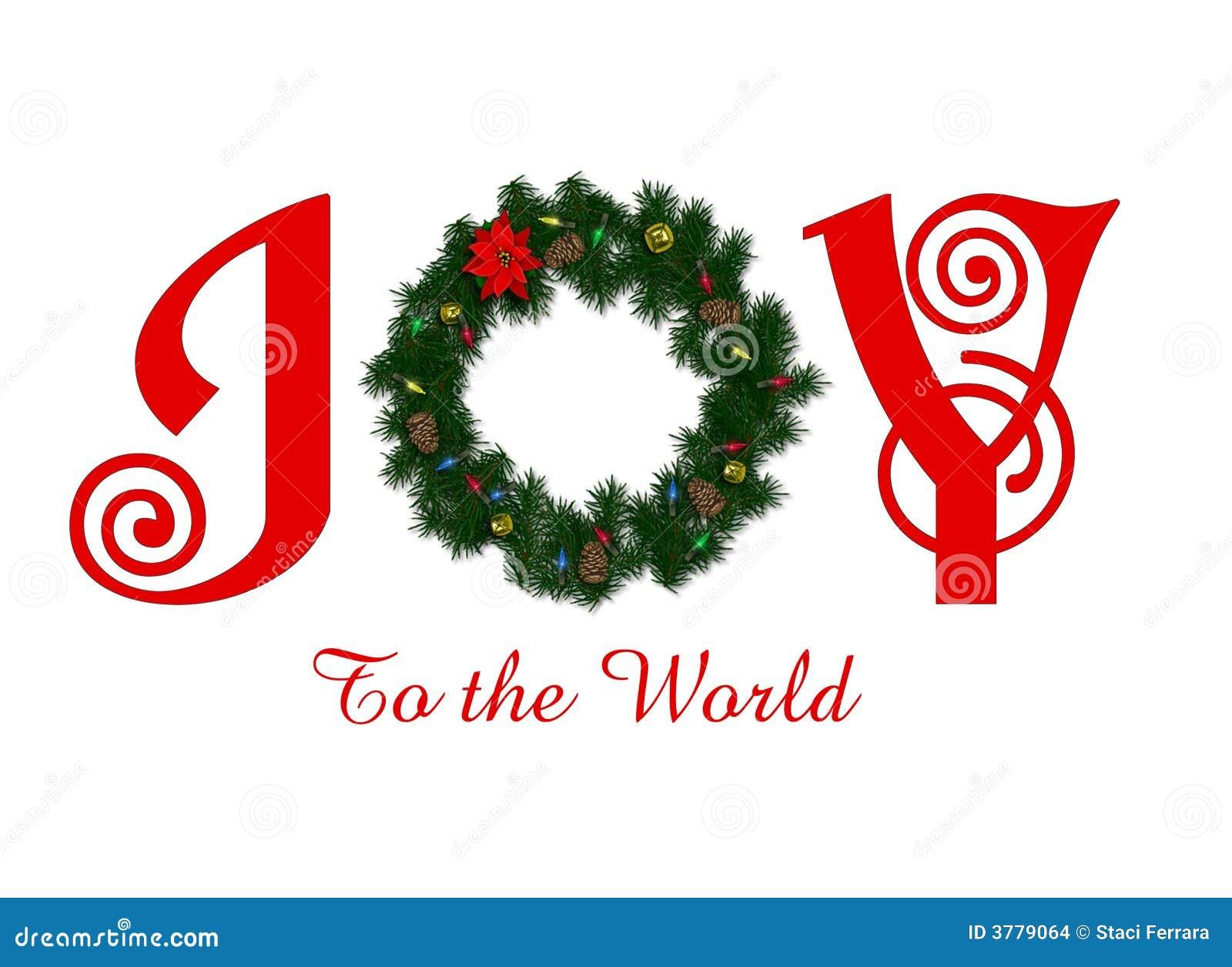 Joy to the World stock illustration. Illustration of peace - 3779064