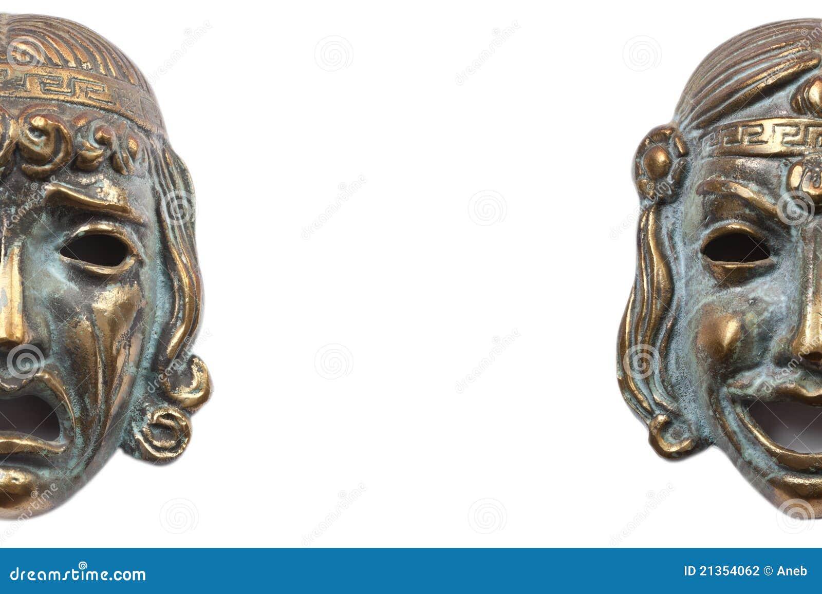 Греческие маски трагедии