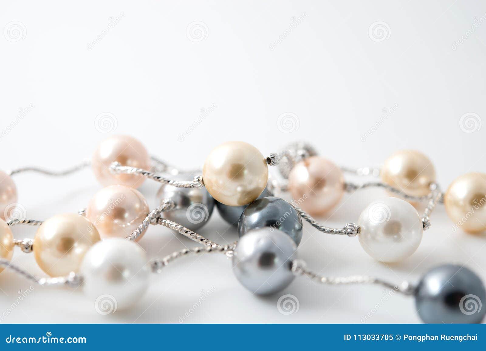 Joyería del collar de la perla