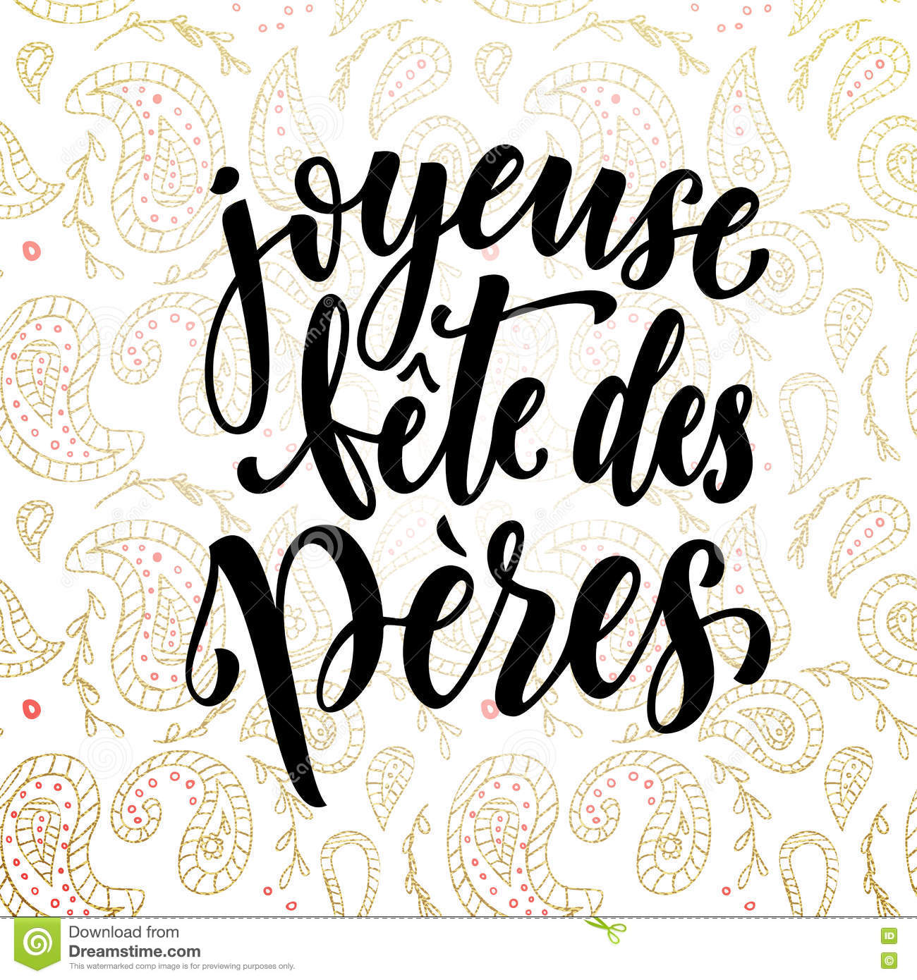 Joyeuse fete des peres father 39 s day french greeting card stock illustration image 72380715 - Photo fete des peres ...
