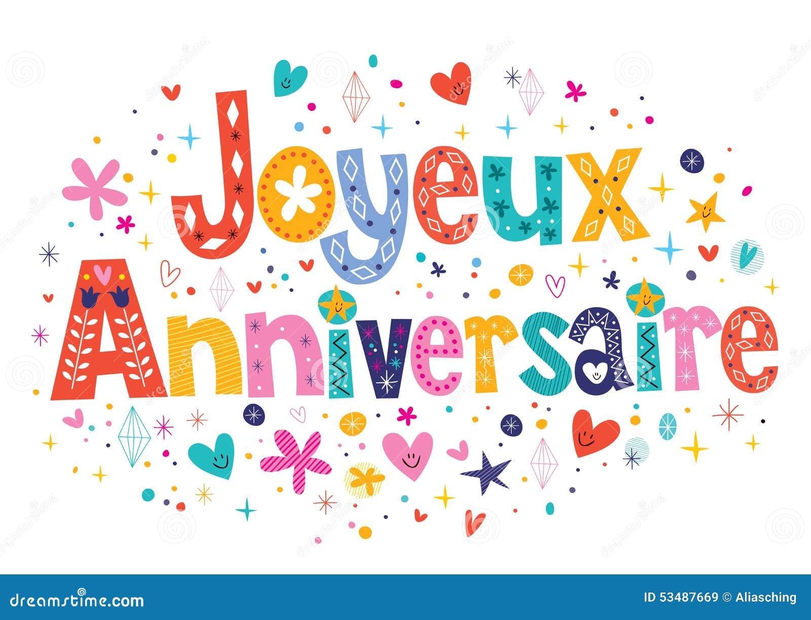 Поздравления на французском языке с днем рождения женщине