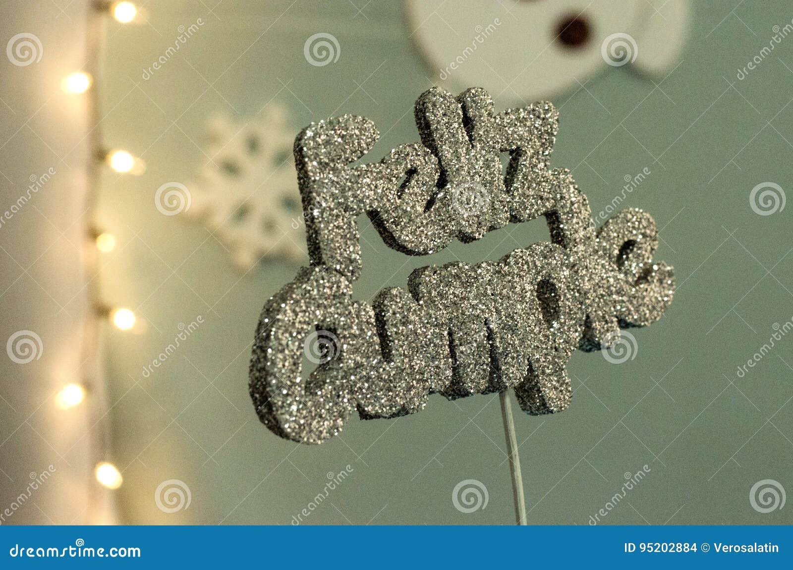 Joyeux Anniversaire Photo Stock Image Du Espagnol Message 95202884