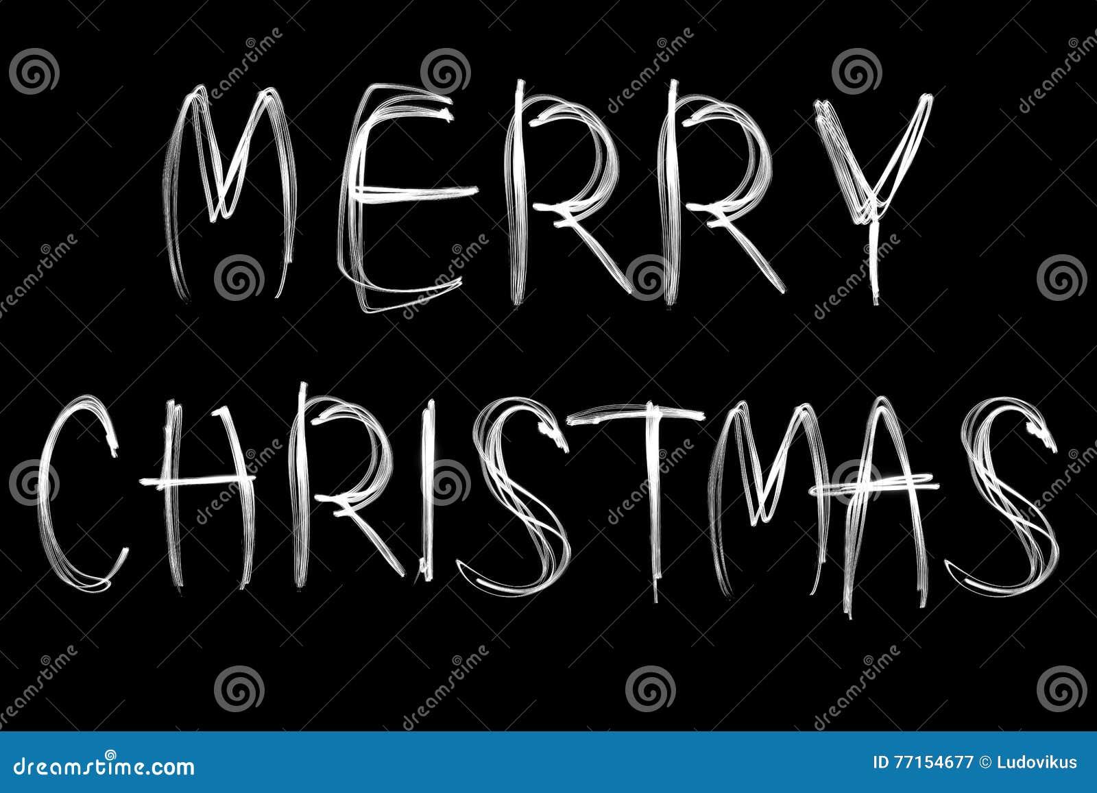 Joyeux Noël sur le fond noir