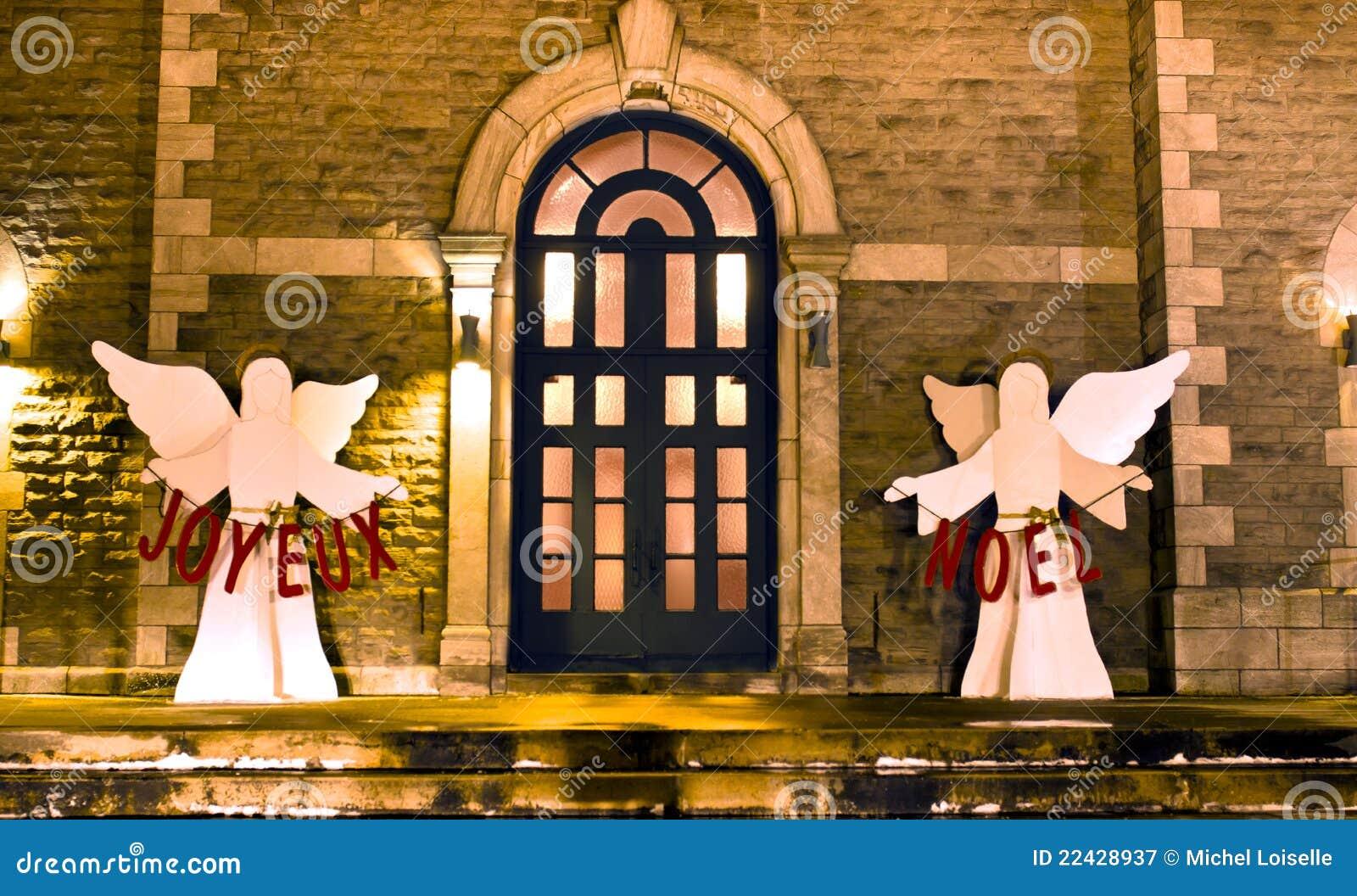 Joyeux noel royalty vrije stock fotografie afbeelding 22428937 for Decor ingang
