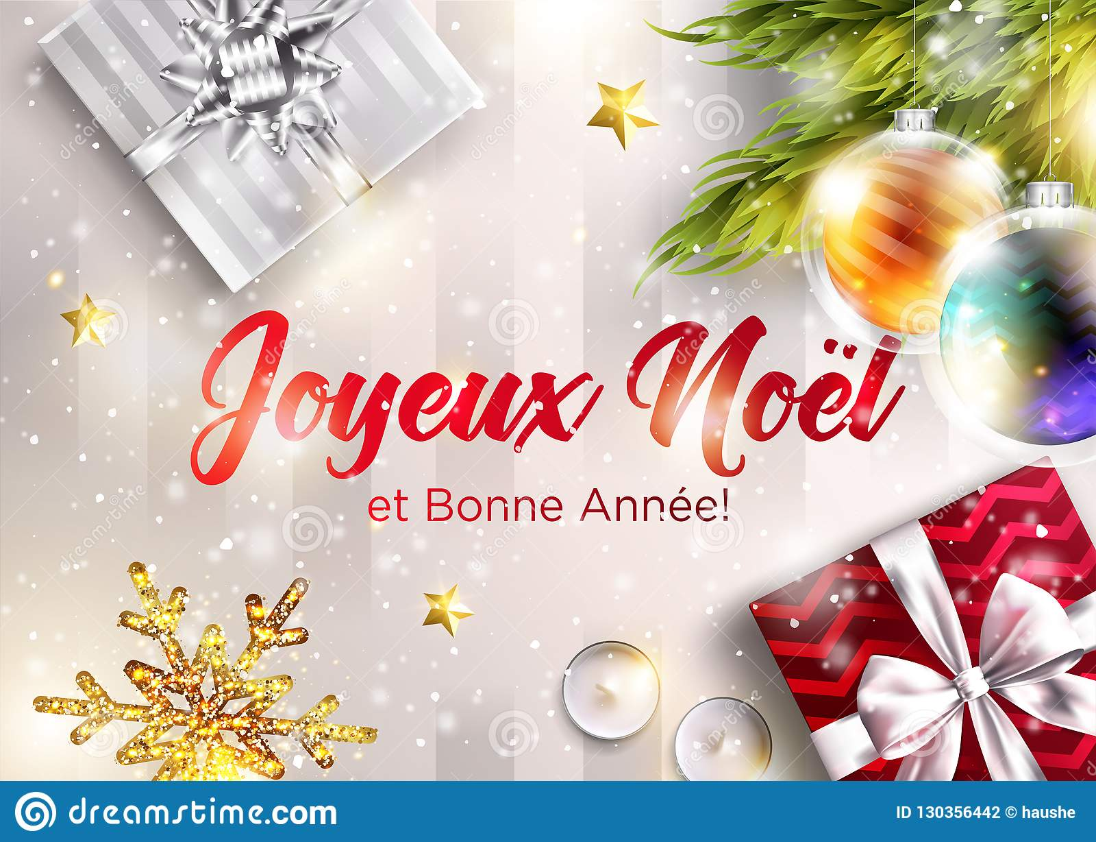 Frohe Weihnachten Guten Rutsch Ins Neue Jahr.Joyeux Noel Und Bonne Annee Frohe Weihnachten Und Guten Rutsch Ins