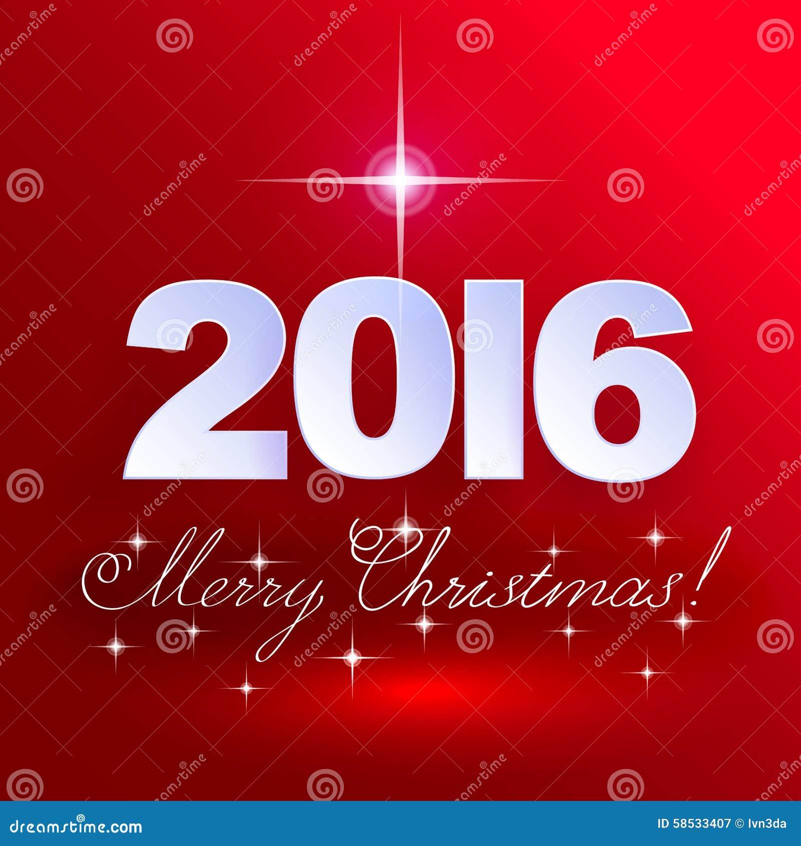 Joyeux no l 2016 fond de vacances illustration de vecteur image 58533407 - Vacances de noel 2016 dates ...