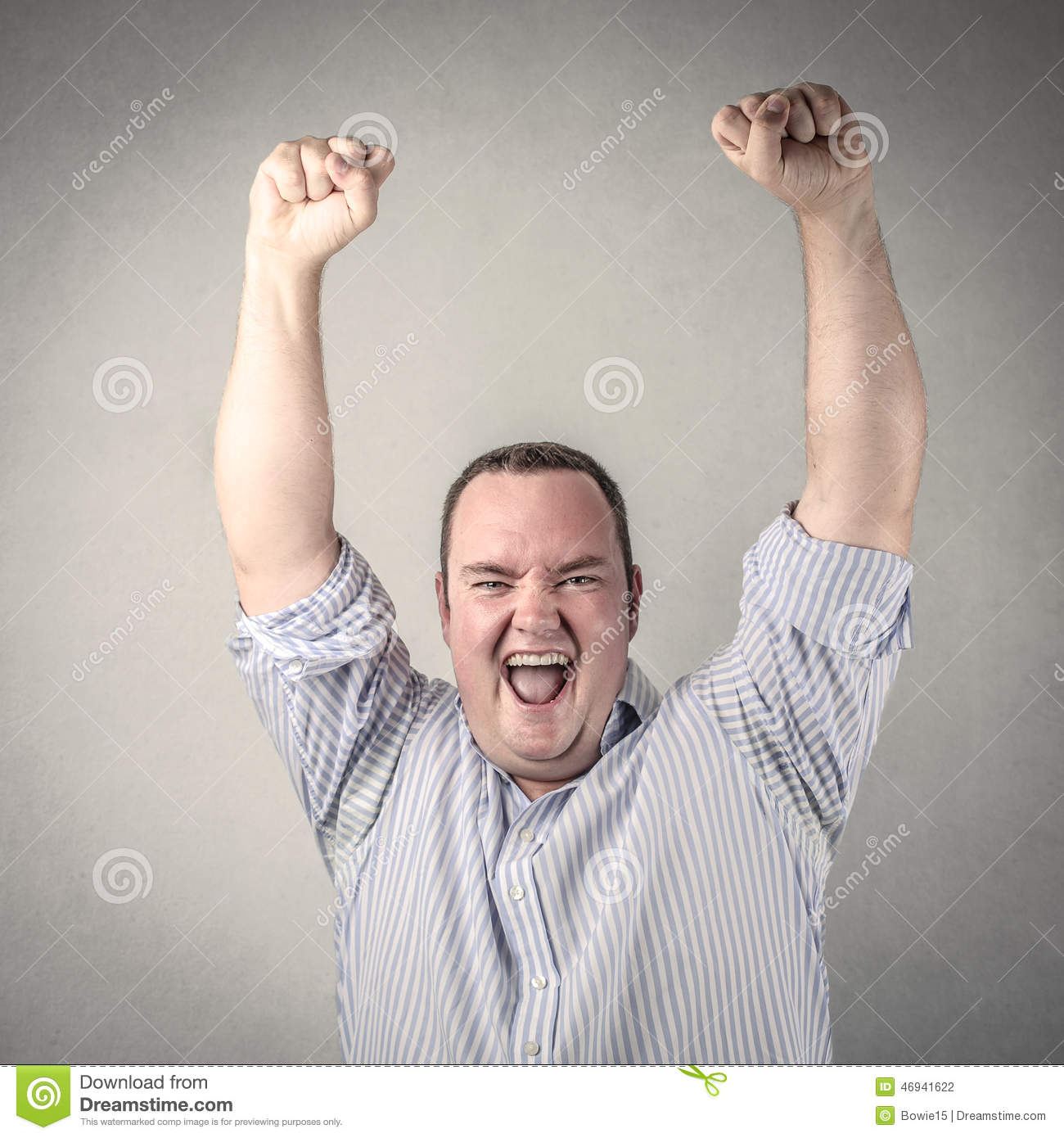 Joyful expression stock photo. Image of winning, concept ...