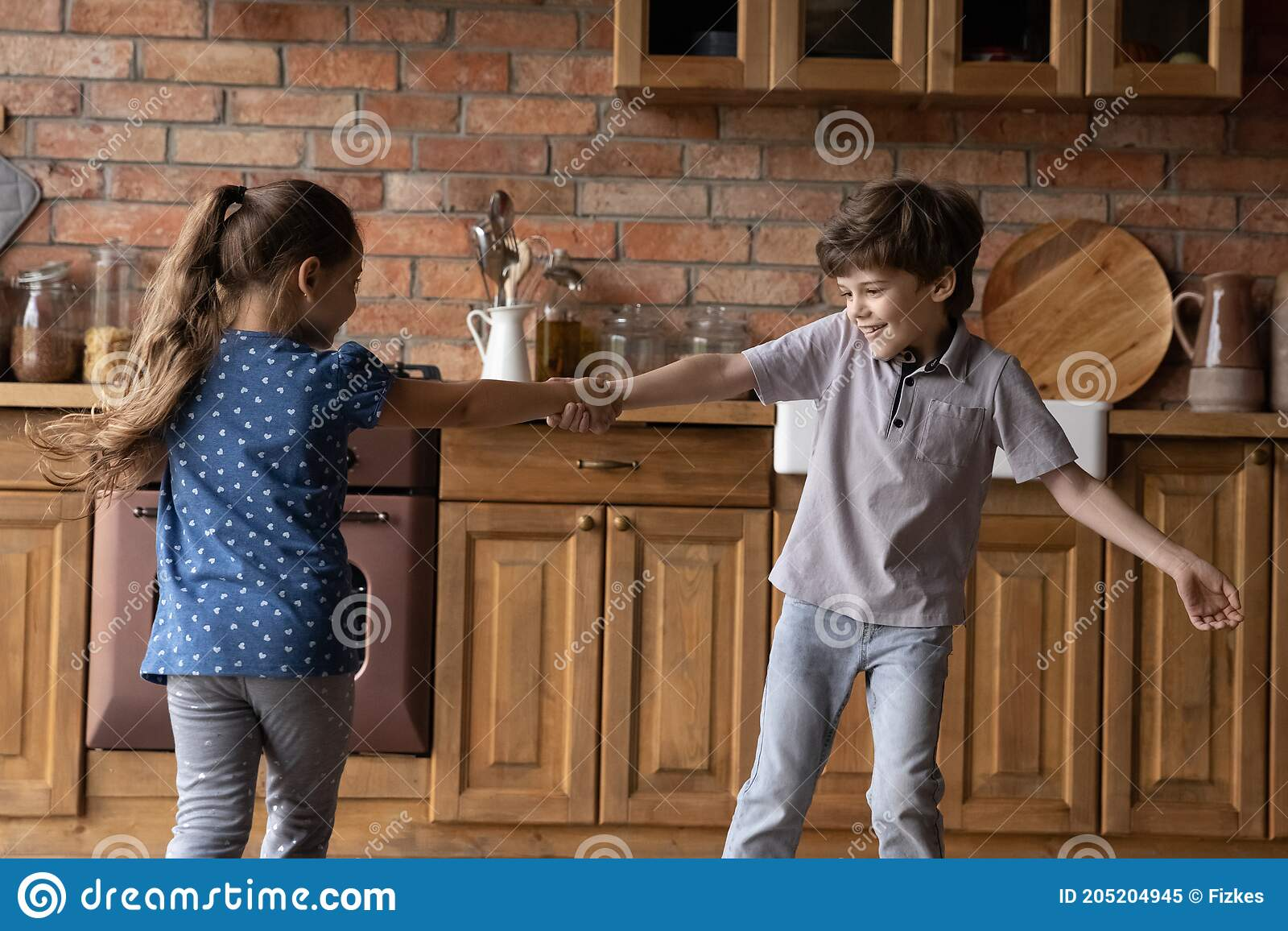 Kids Kitchen Running Photos Free Royalty Free Stock Photos From Dreamstime