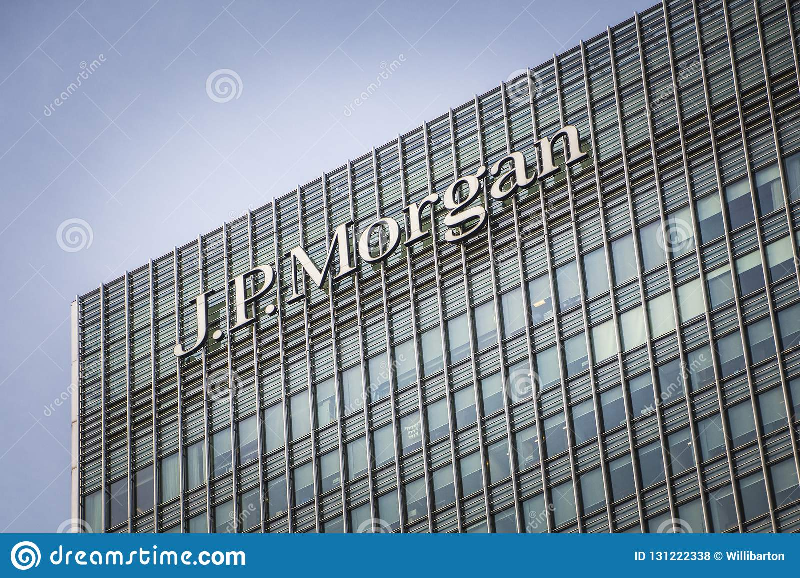JP Morgan building, Canary Wharf