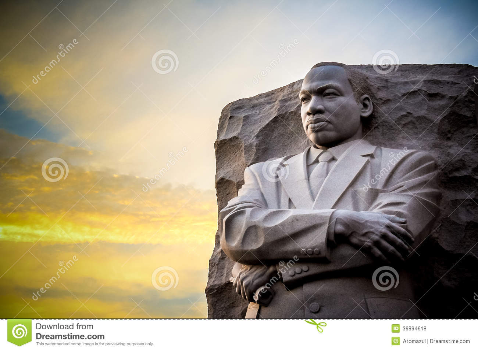 JR monumento de Martin Luther King