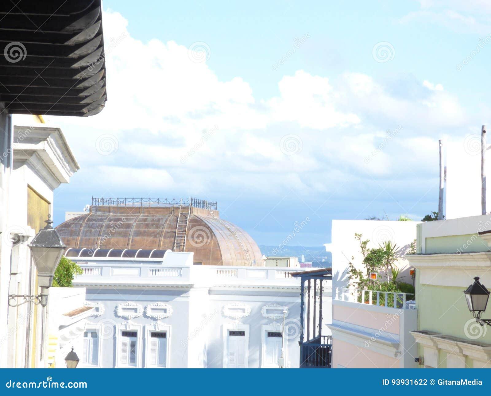 Juan старая Пуерто Рико san
