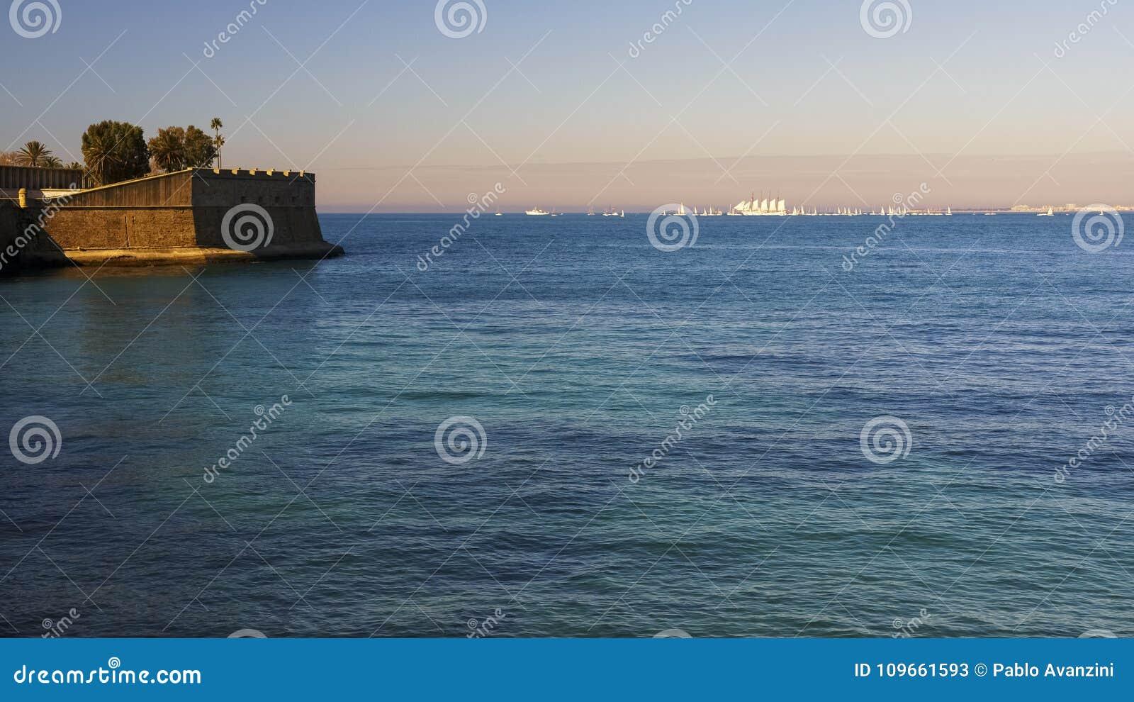 Juan Sebastian Elcano Port of Cadiz Departure