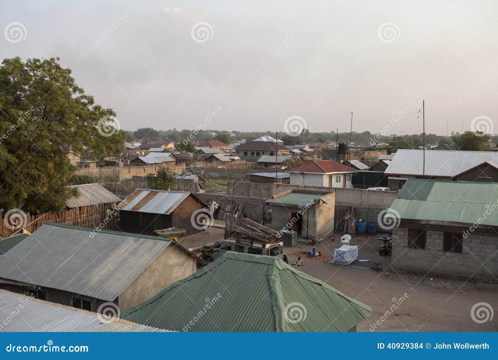 Juba, South Sudan stock photo  Image of sudan, slum, nobody - 40929384