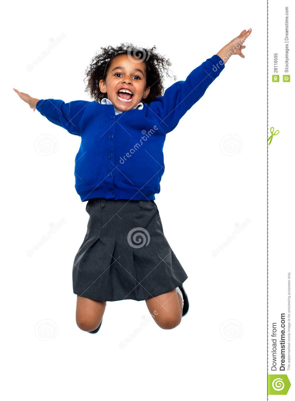 Jubilant School Kid Jumping High Up In The Air Royalty ... Happy High School Student Clipart