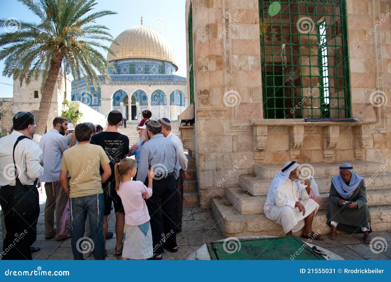 Jude Besuchs Tempel Montierung Redaktionelles Foto Bild